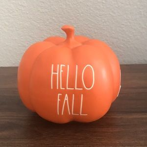 Rae Dunn Hello Fall Pumpkin